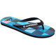 Quiksilver Molokairesinchk Men Sandals black/blue/red
